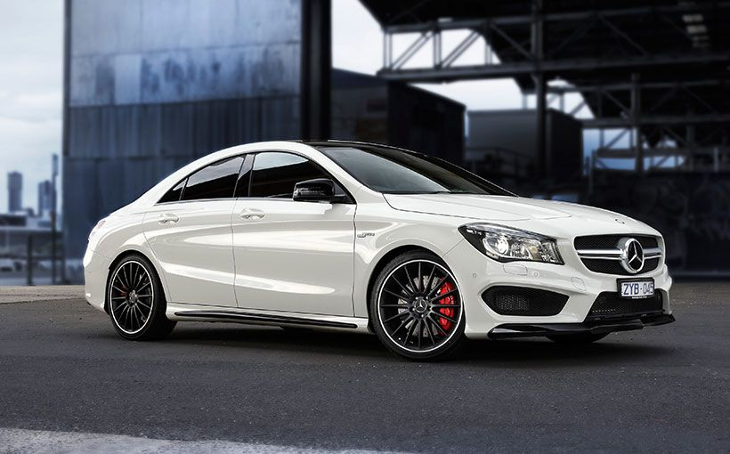 Meet Australiau0027s Most Expensive Small Car U2013 The Mercedes Benz CLA45 AMG.