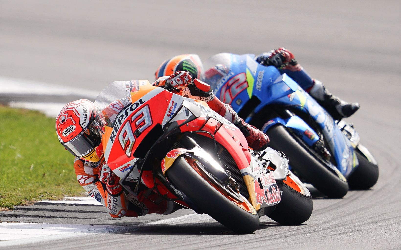 Marc Marquez and Alex Rins