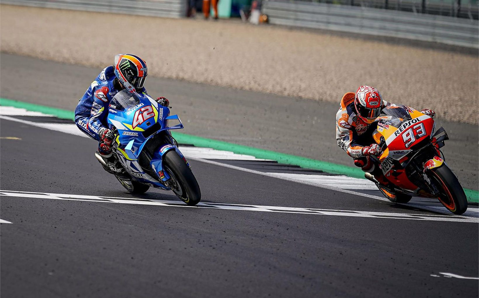 Alex Rins and Marc Marquez