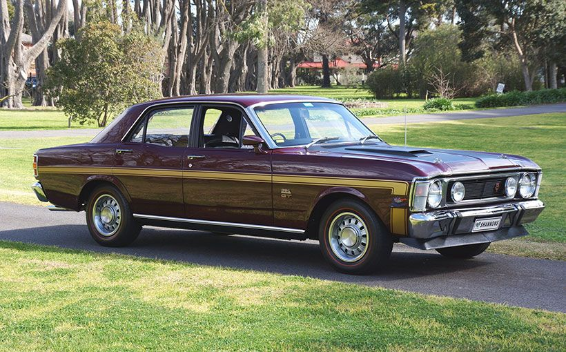 This Highly Optioned 1969 Ford Falcon XW GT Sold For 77000 Classic Australian Cars Did Well