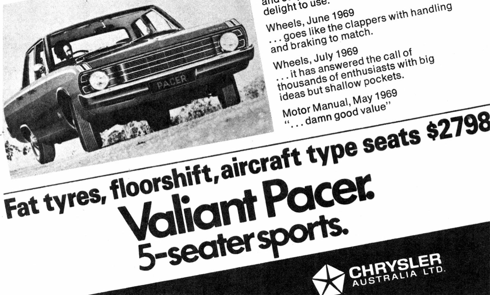 Chrysler revives iconic Aussie muscle-car Pacer name for 300