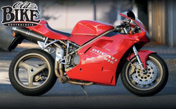 old bike australiasia: ducati 916 - tamburini's masterpiece