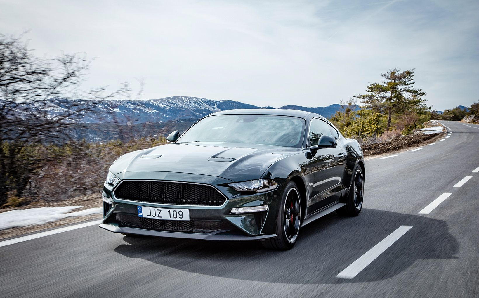 This is the euro market mustang bullitt launched at the geneva motor show in early march ours will be virtually identical to this