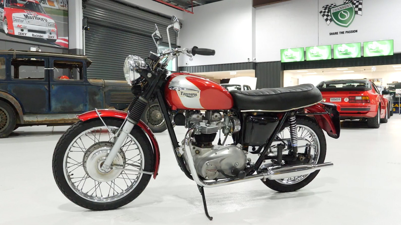 1969 Triumph Trophy 650cc Motorcycle - 2021 Shannons Spring Timed Online Auction