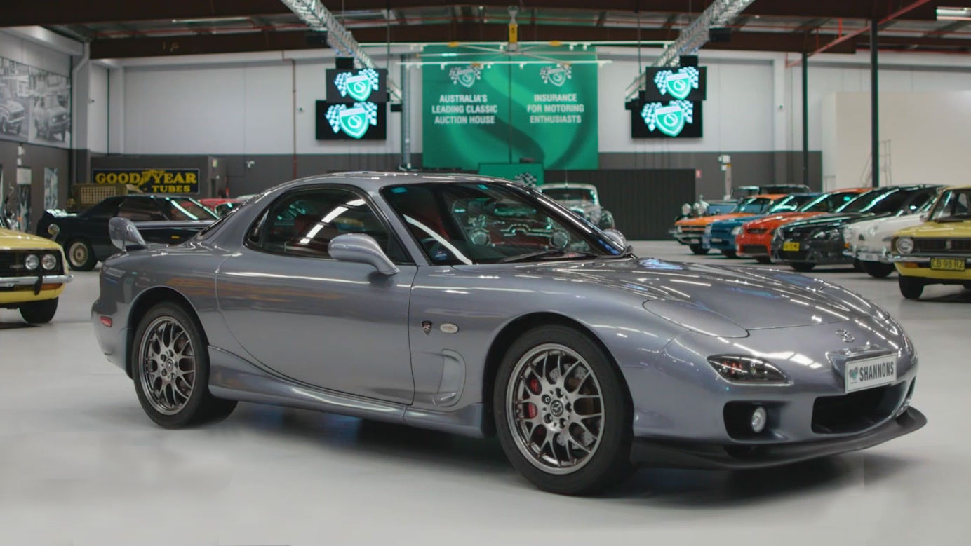 2002 Mazda RX7 Spirit R 'Type A' Coupe - 2021 Shannons Autumn Timed Online Auction