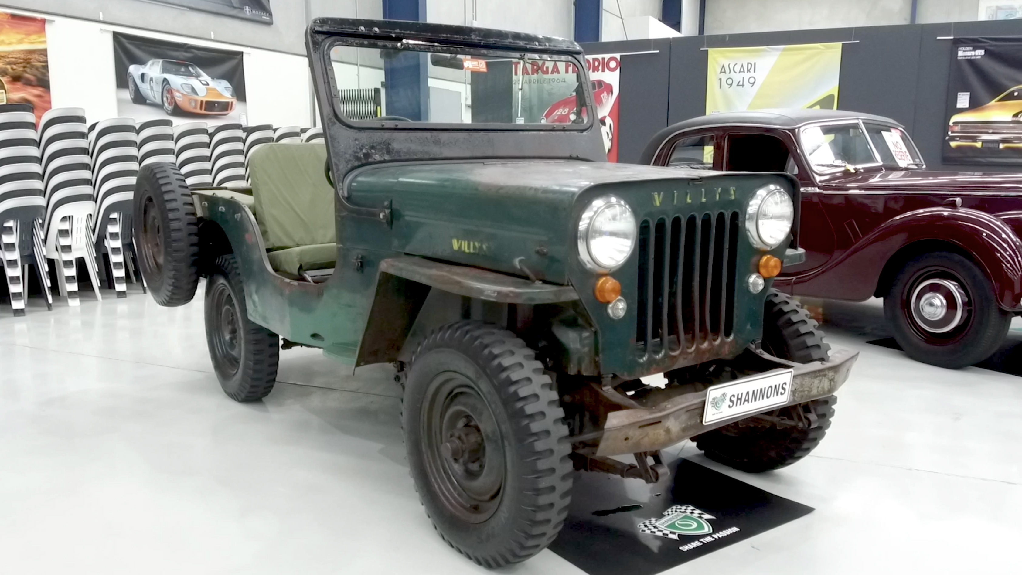 1958 Willys Jeep CJ-3B - 2020 Shannons Spring Timed Online Auction