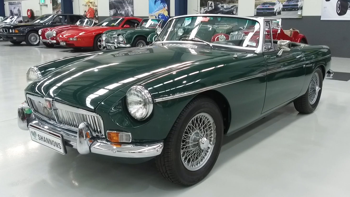1969 MG B MKII Roadster - 2021 Shannons Autumn Timed Online Auction