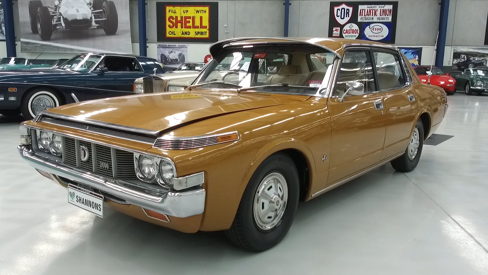1973 Toyota MS65 Crown Sedan - 2021 Shannons Autumn Timed Online Auction