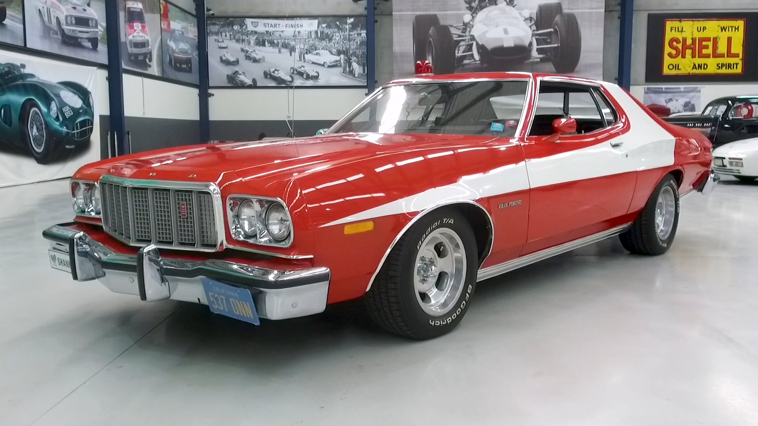 1976 Ford Gran Torino 460 'Modified' Coupe (LHD) - 2021 Shannons Summer Timed Online Auction