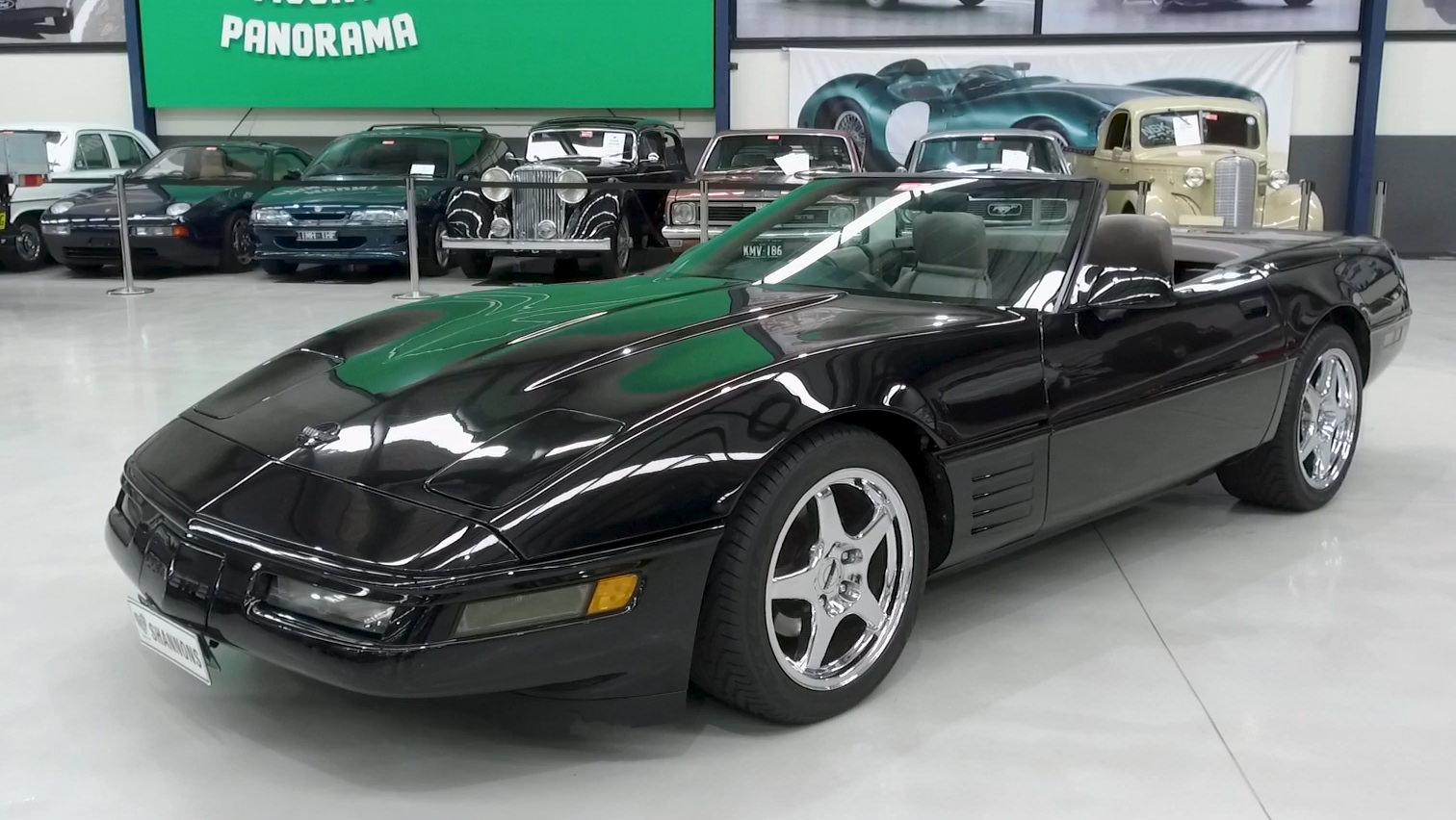 1991 Chevrolet Corvette Convertible (RHD) - 2021 Shannons Winter Timed Online Auction