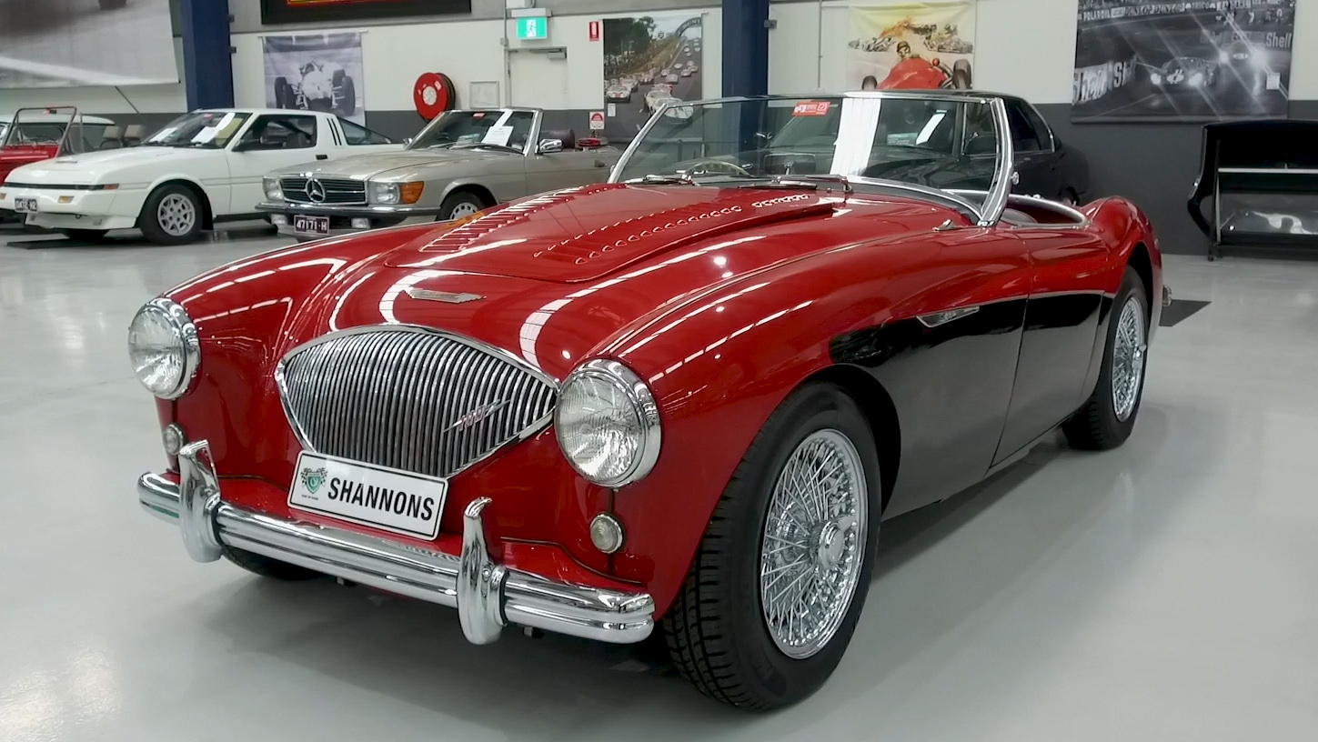1954 Austin-Healey 100/4 BN1 Roadster - 2021 Shannons Autumn Timed Online Auction