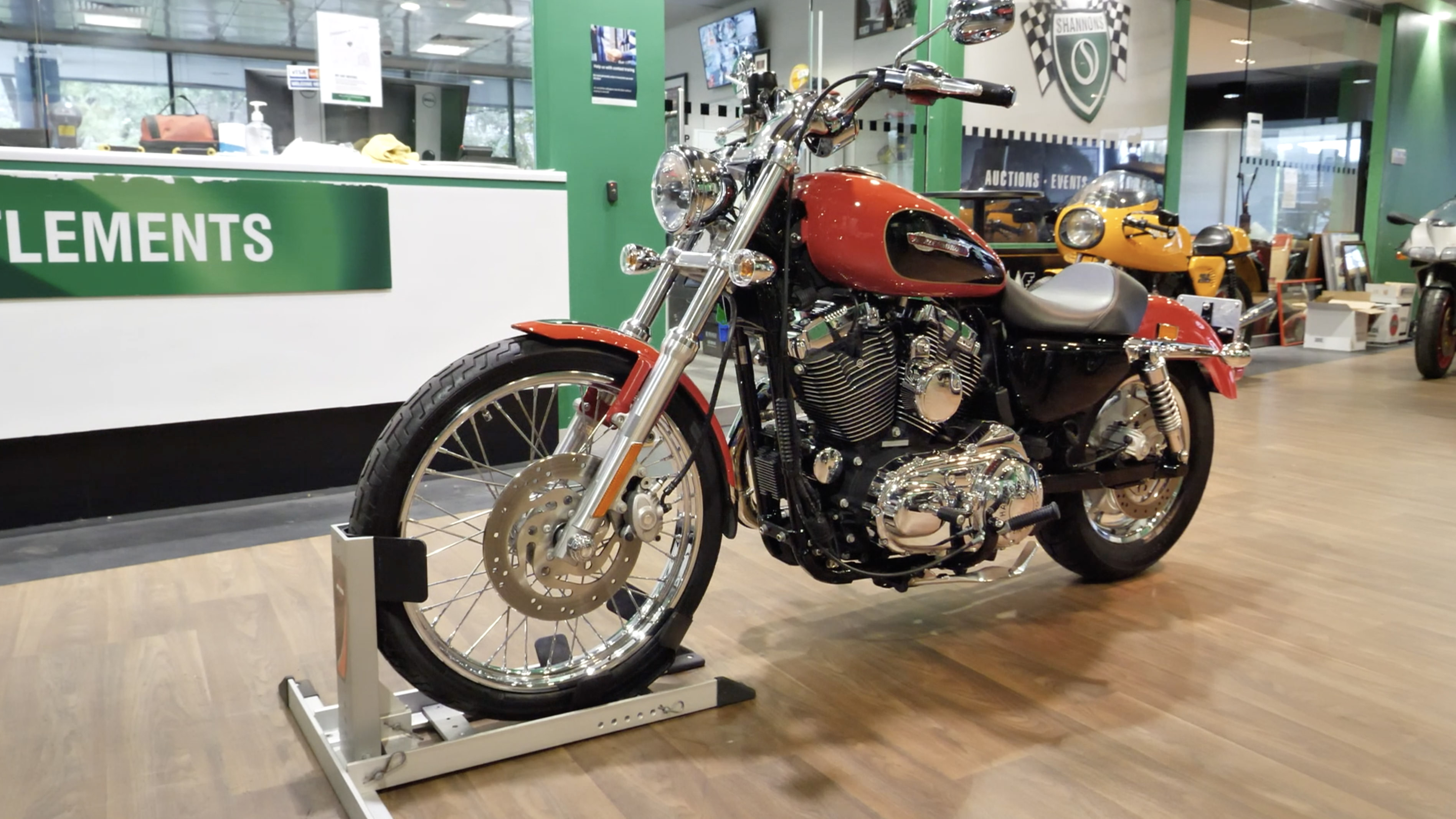 2010 Harley-Davidson Sportster XL1200C Motorcycle - 2020 Shannons Spring Timed Online Auction