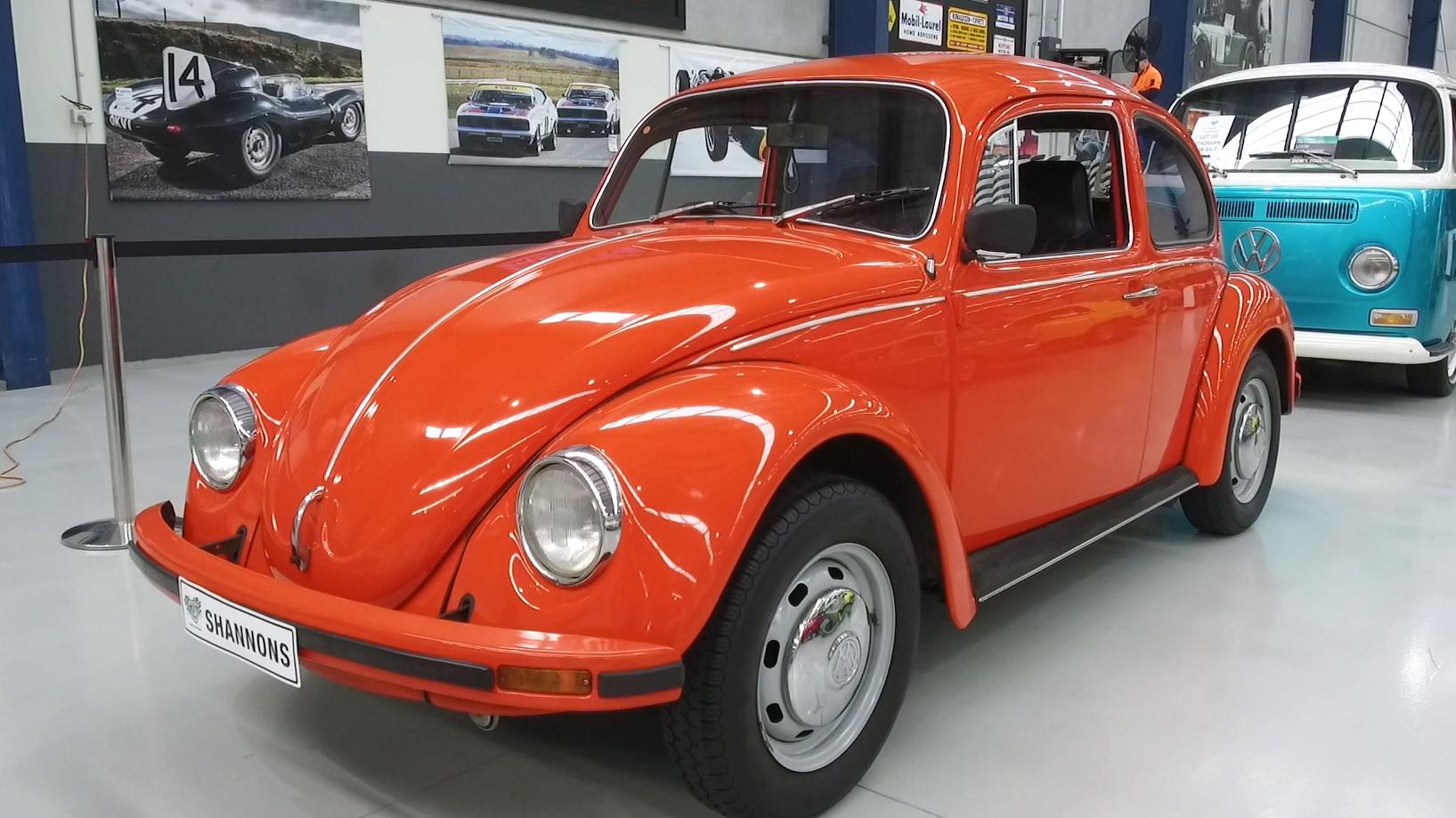 1976 Volkswagen Beetle 1600 Sedan - 2021 Shannons Spring Timed Online Auction
