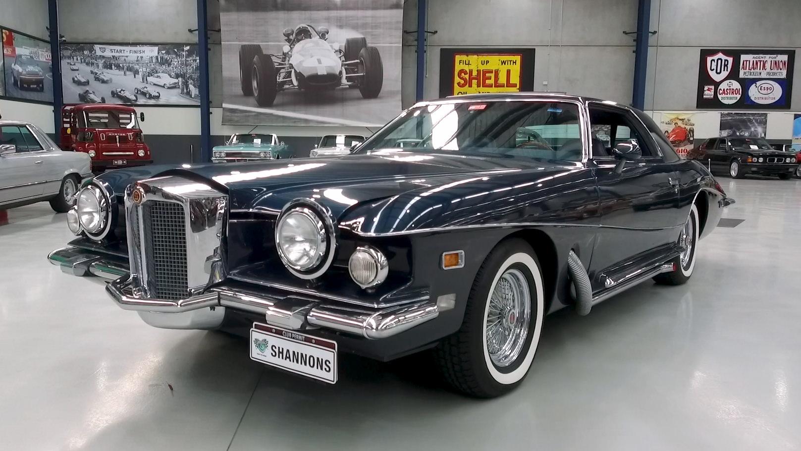1976 Stutz Blackhawk Coupe (LHD) - 2021 Shannons Autumn Timed Online Auction