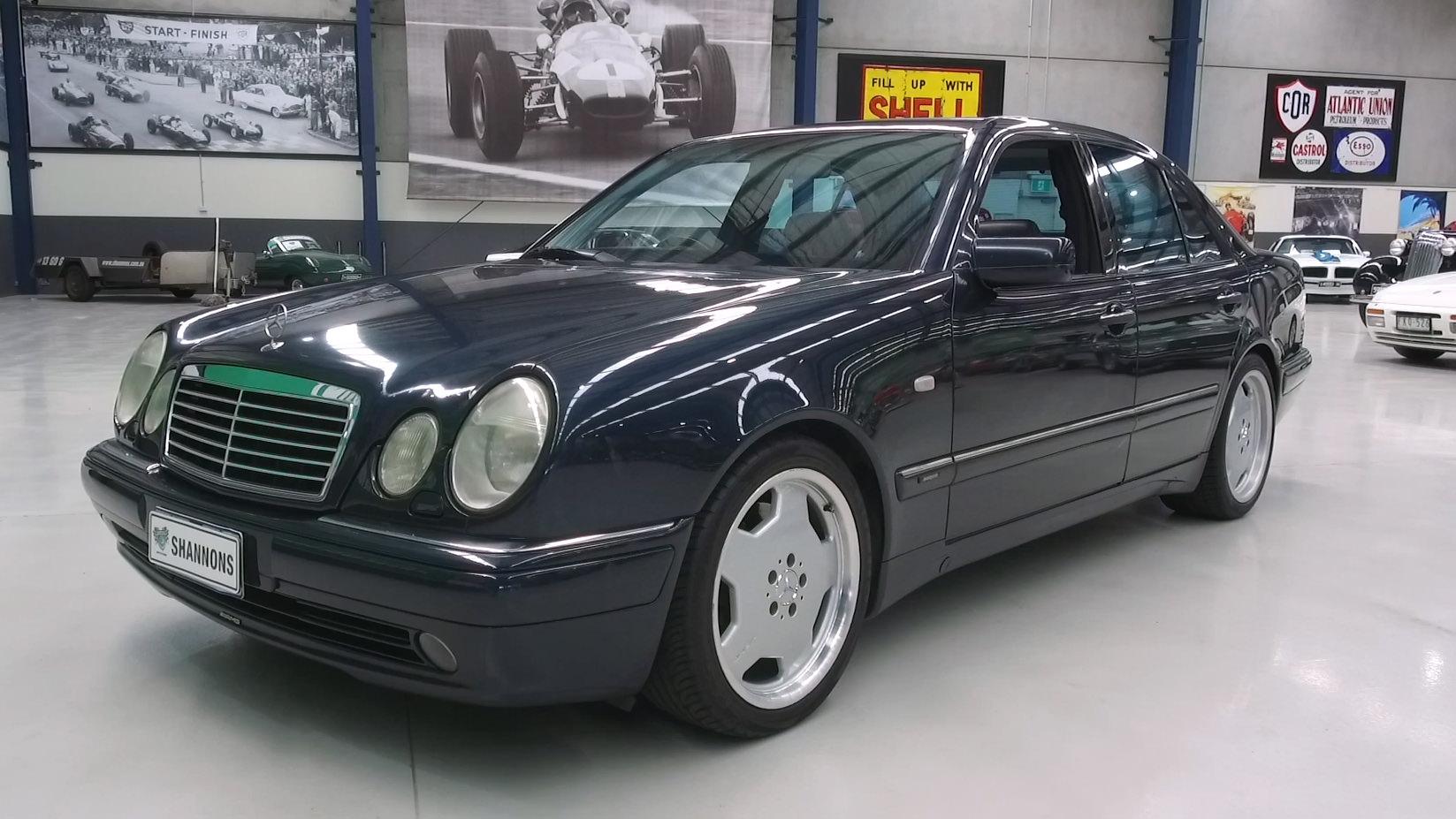 1998 Mercedes-Benz E55 AMG Sedan - 2021 Shannons Summer Timed Online Auction