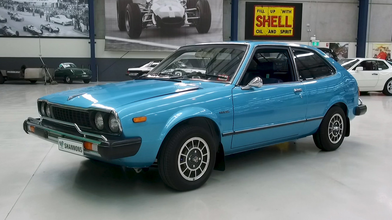1977 Honda Accord 'Manual' Coupe - 2021 Shannons Summer Timed Online Auction