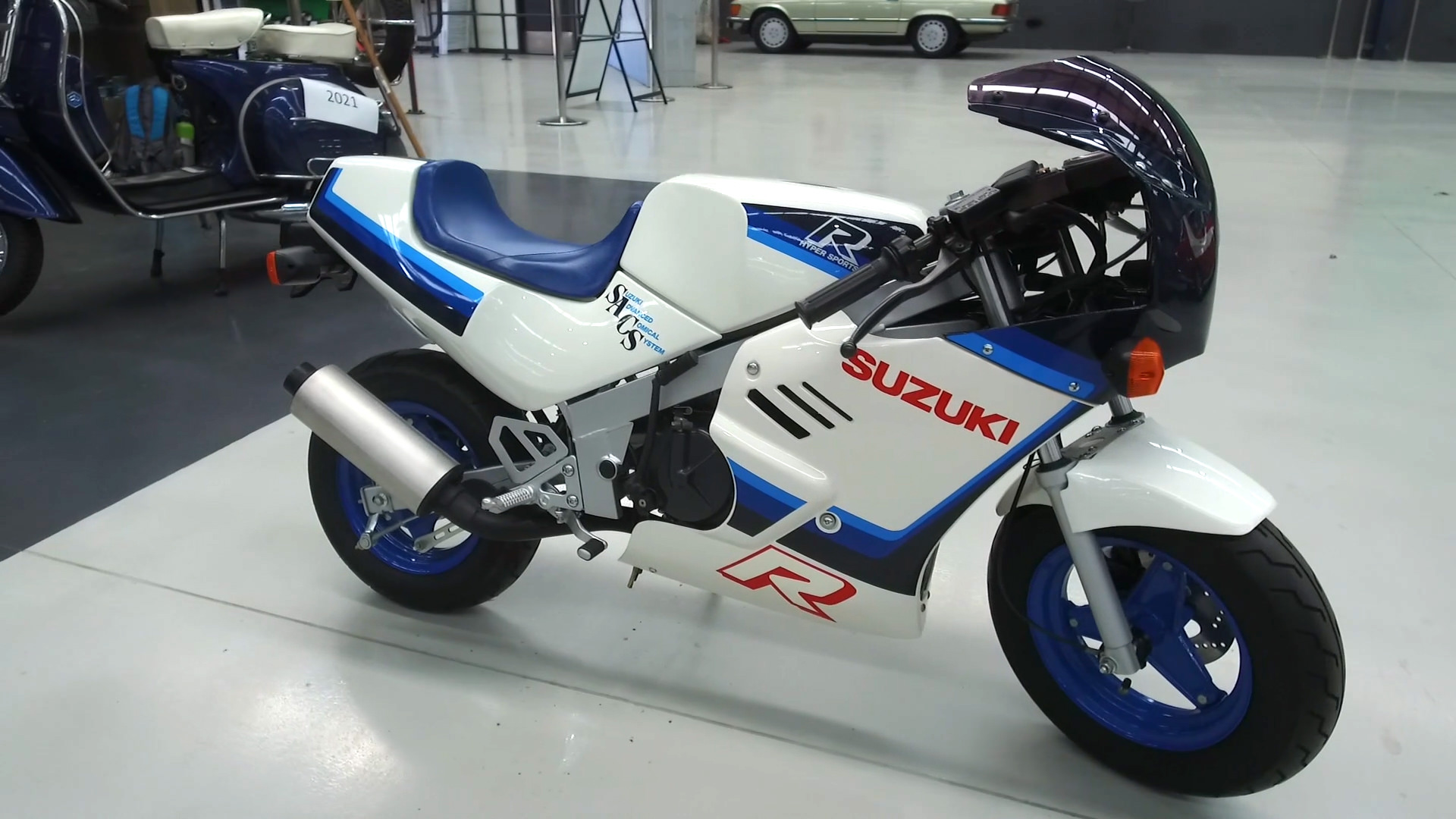 1986 Suzuki RB50 125CC R Hyper Sports GAG Motorcycle - 2021 Shannons Summer Timed Online Auction