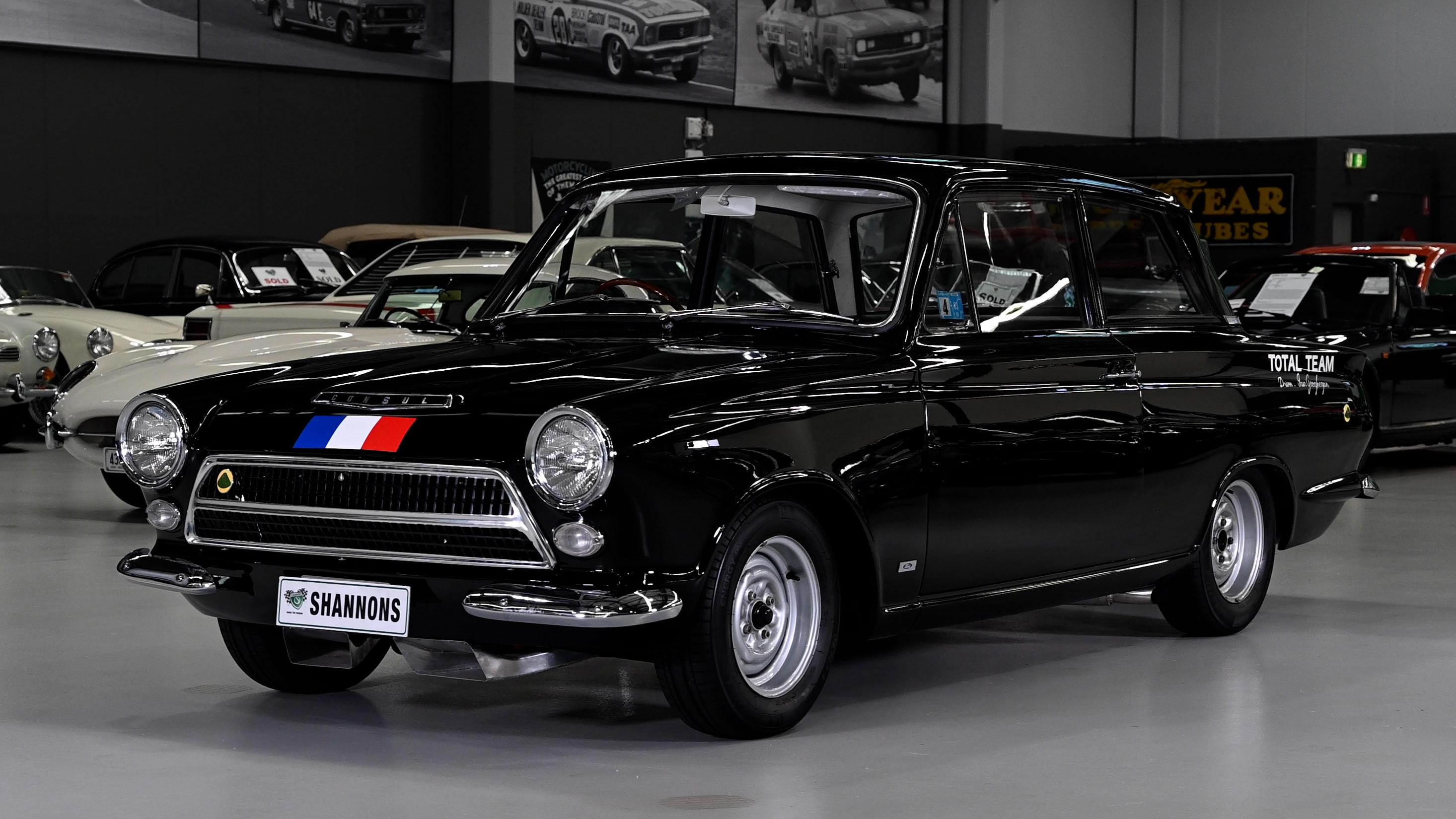 1964 Lotus Cortina Mk 1 'Works Prepared' 2Dr Sedan - 2021 Shannons Winter Timed Online Auction