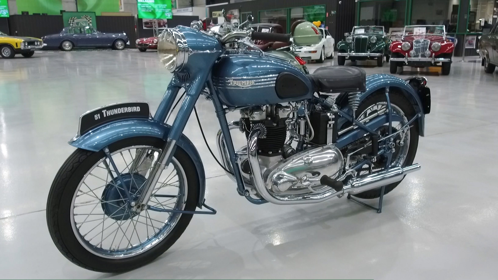 1951 Triumph Thunderbird 650cc Motorcycle - 2021 Shannons Winter Timed Online Auction