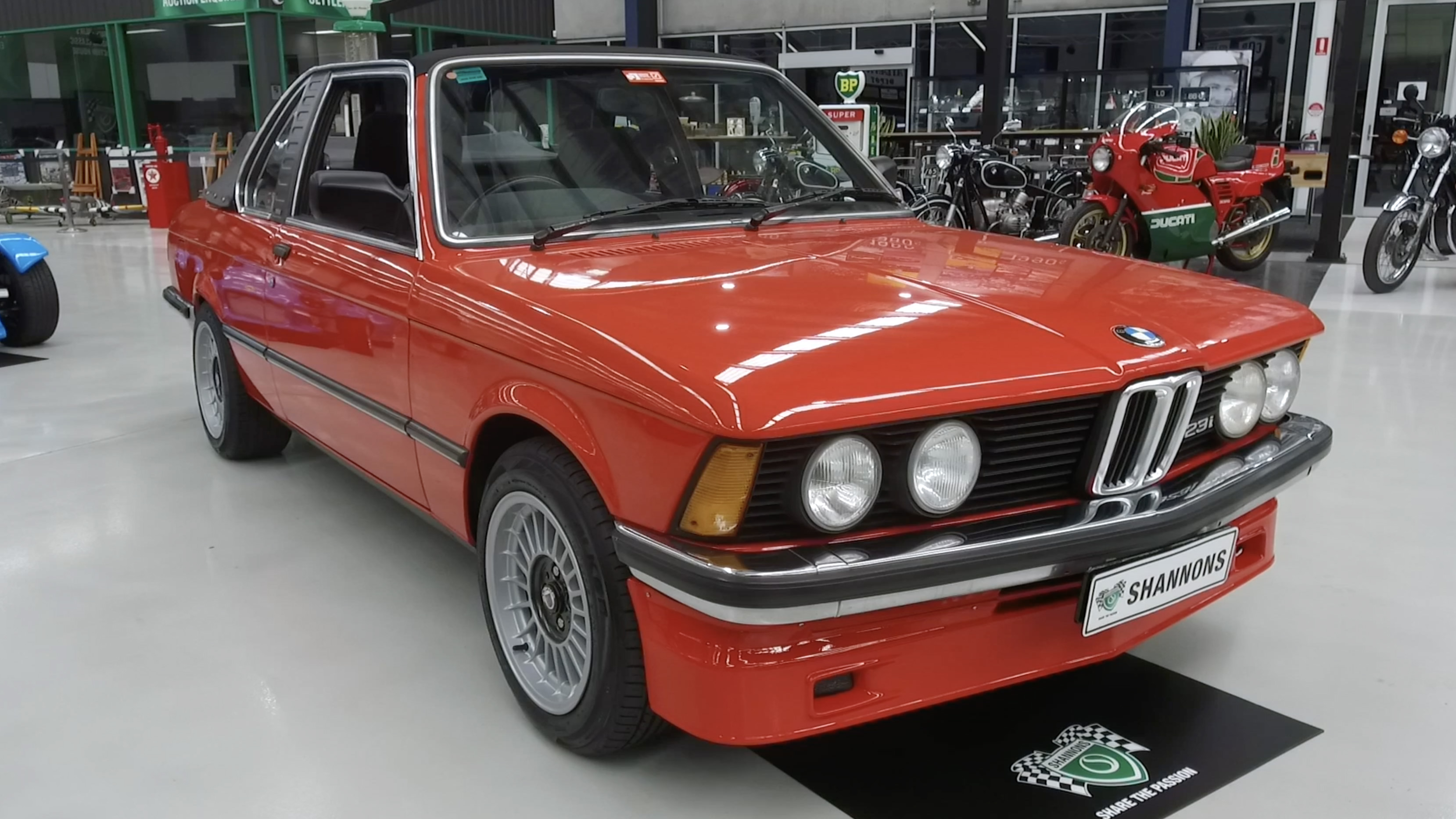 1982 BMW 323i 'Baur' Convertible - 2020 Shannons Spring Timed Online Auction