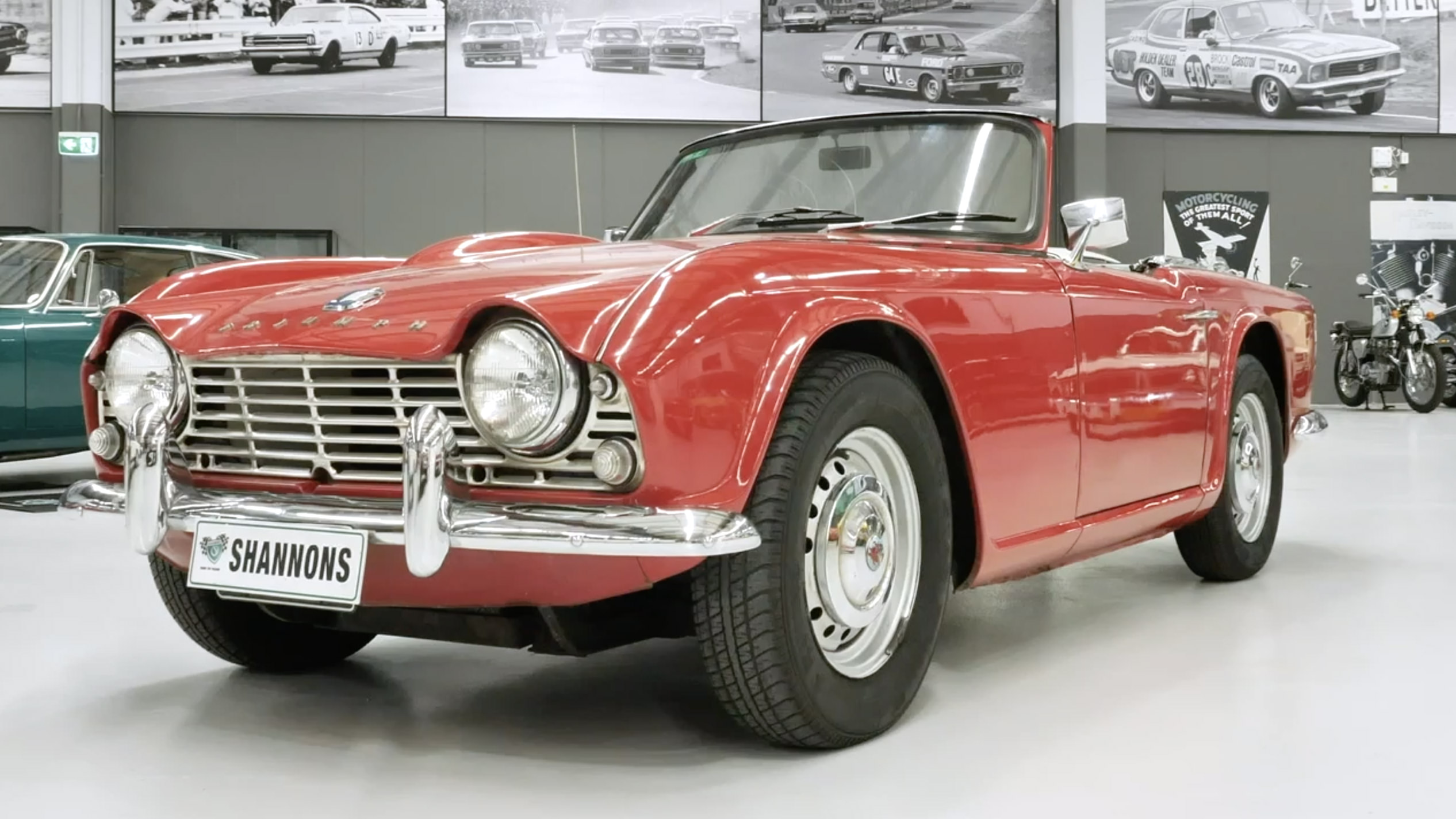 1961 Triumph TR4 Roadster - 2021 Shannons Summer Timed Online Auction