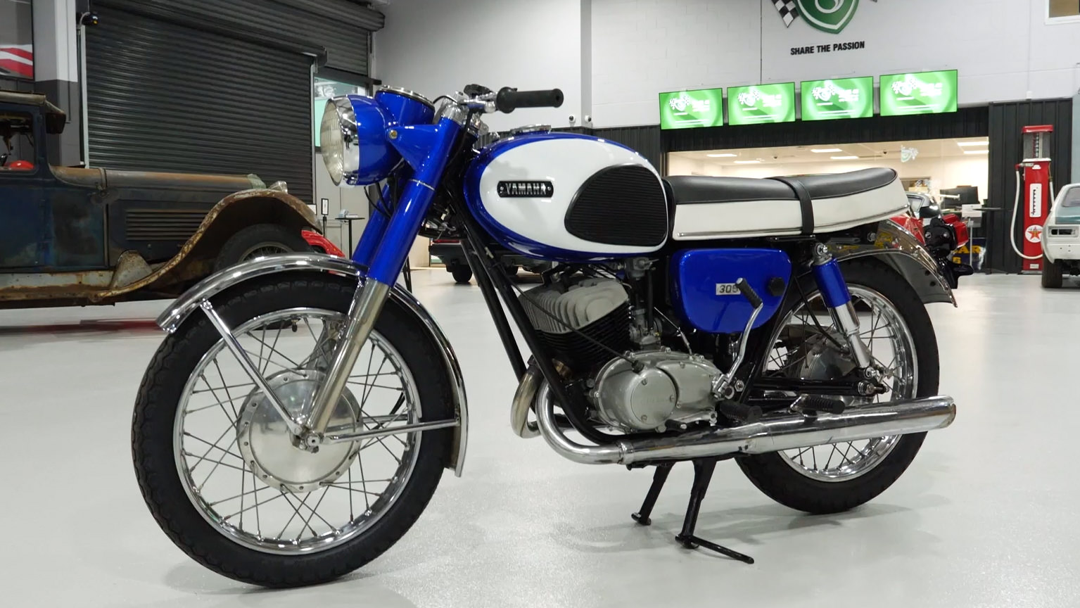 1965 Yamaha YM1 305cc Motorcycle - 2021 Shannons Spring Timed Online Auction