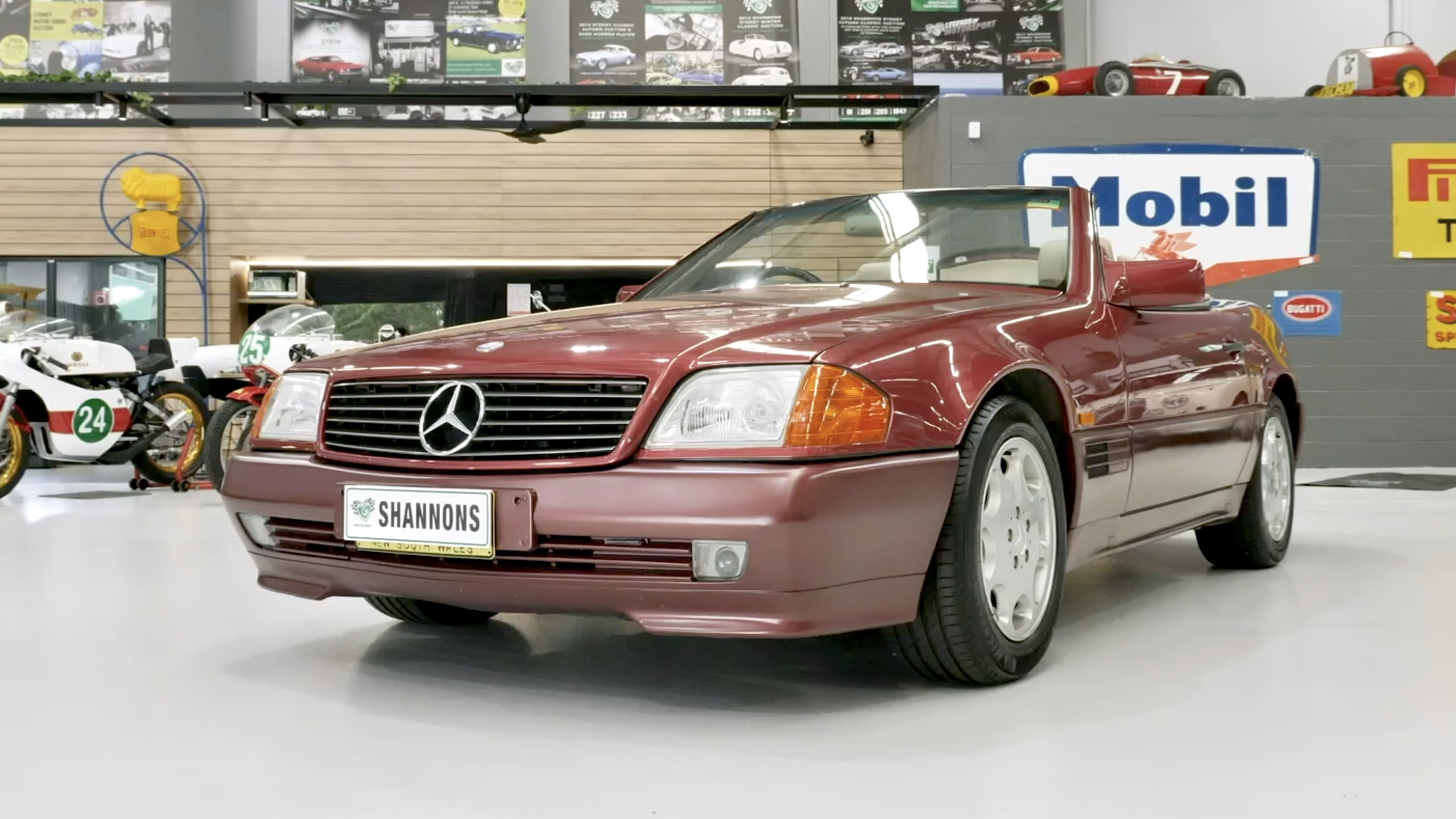 1994 Mercedes-Benz 500SL R129 Convertible - 2021 Shannons Summer Timed Online Auction