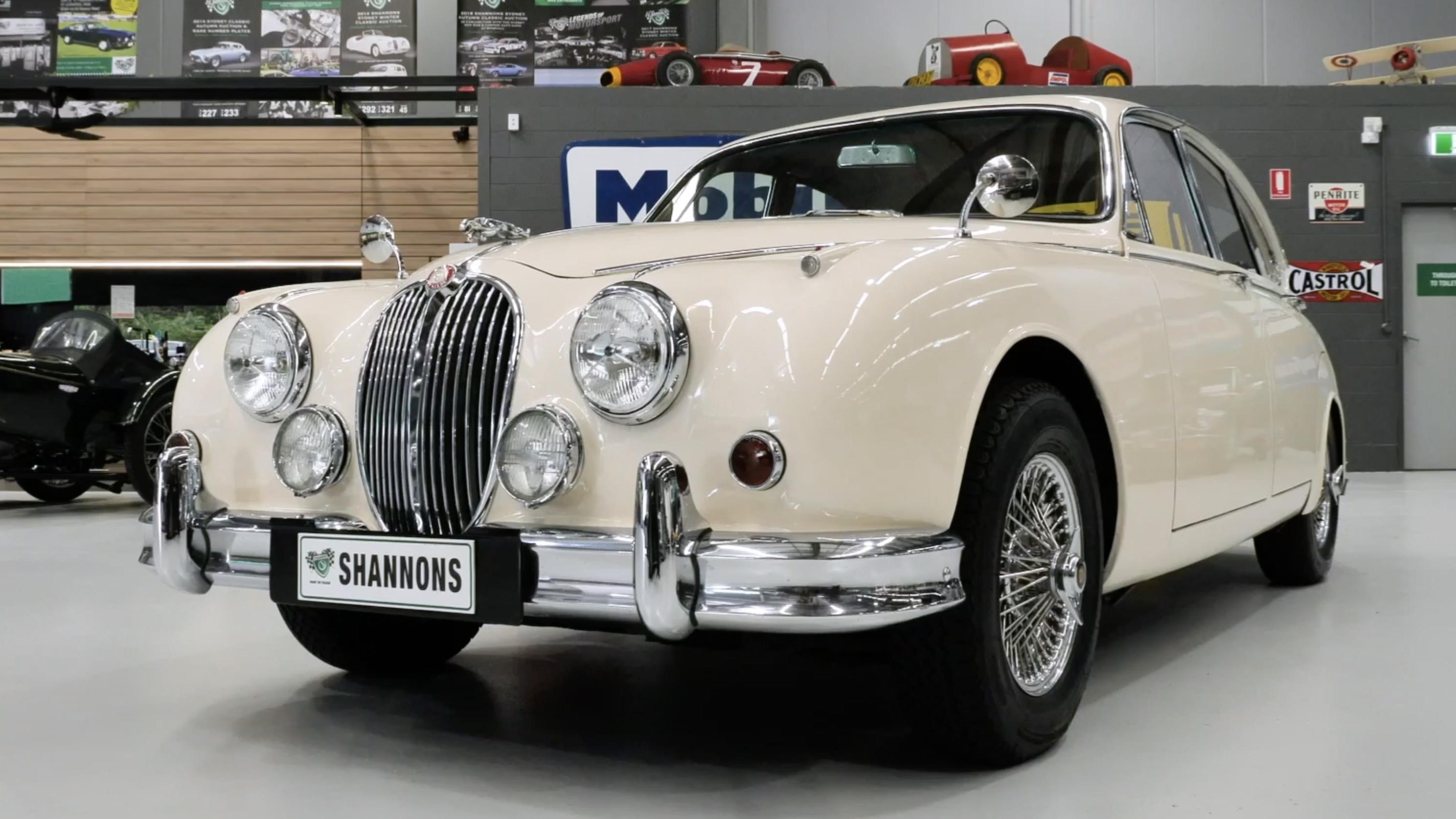 1966 Jaguar Mark 2 3.8 'Manual Overdrive' Saloon - 2021 Shannons Summer Timed Online Auction