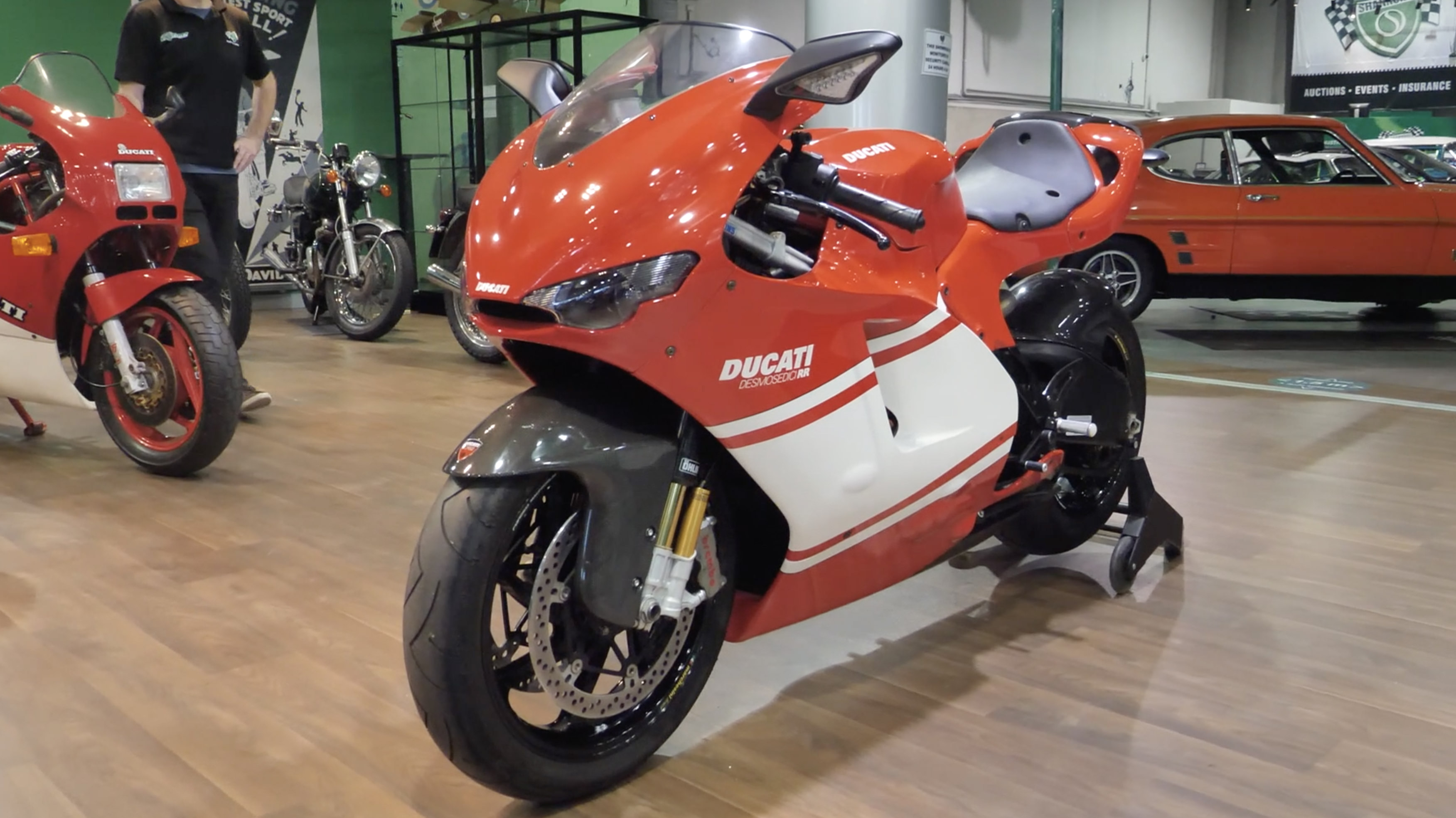 2008 Ducati Desmosedici RR Motorcycle - 2020 Shannons Spring Timed Online Auction