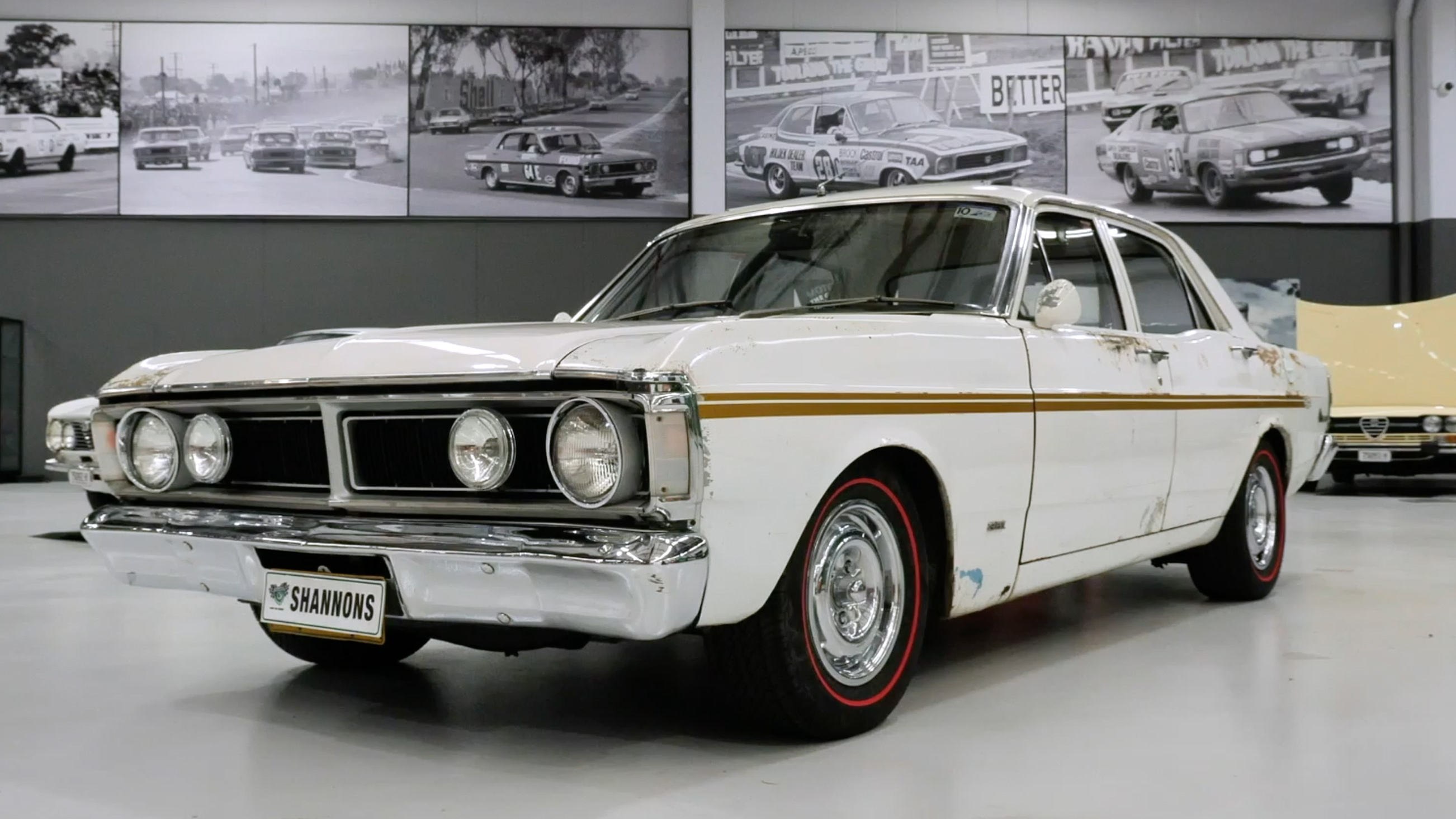 1971 Ford XY Falcon GS 351 'K-Code' Sedan - 2021 Shannons Summer Timed Online Auction