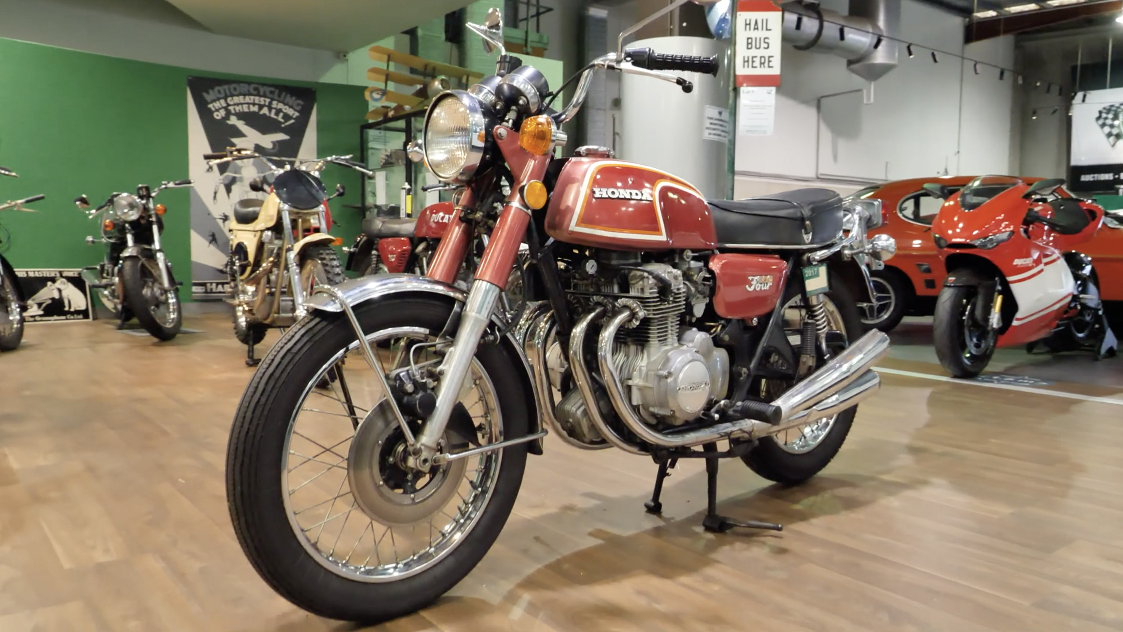 1972 Honda CB350/4 Solo Motorcycle - 2020 Shannons Spring Timed Online Auction