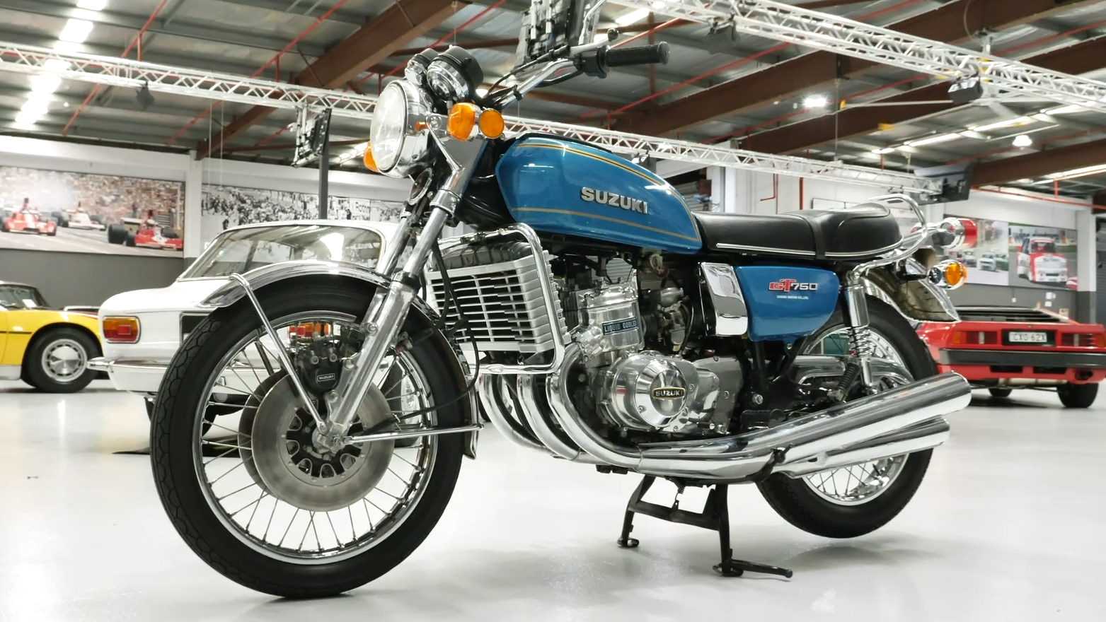 1976 Suzuki GT750A Motorcycle - 2021 Shannons Summer Timed Online Auction