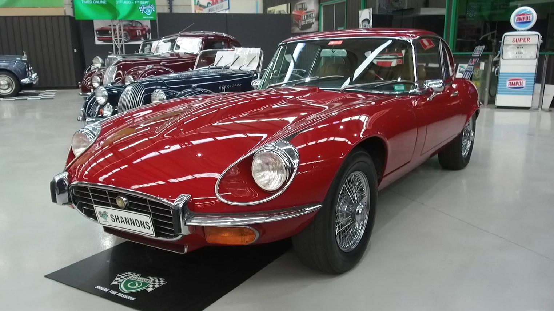 1971 Jaguar E - Type V12 Series 3 'Manual' Coupe - 2021 Shannons Winter Timed Online Auction