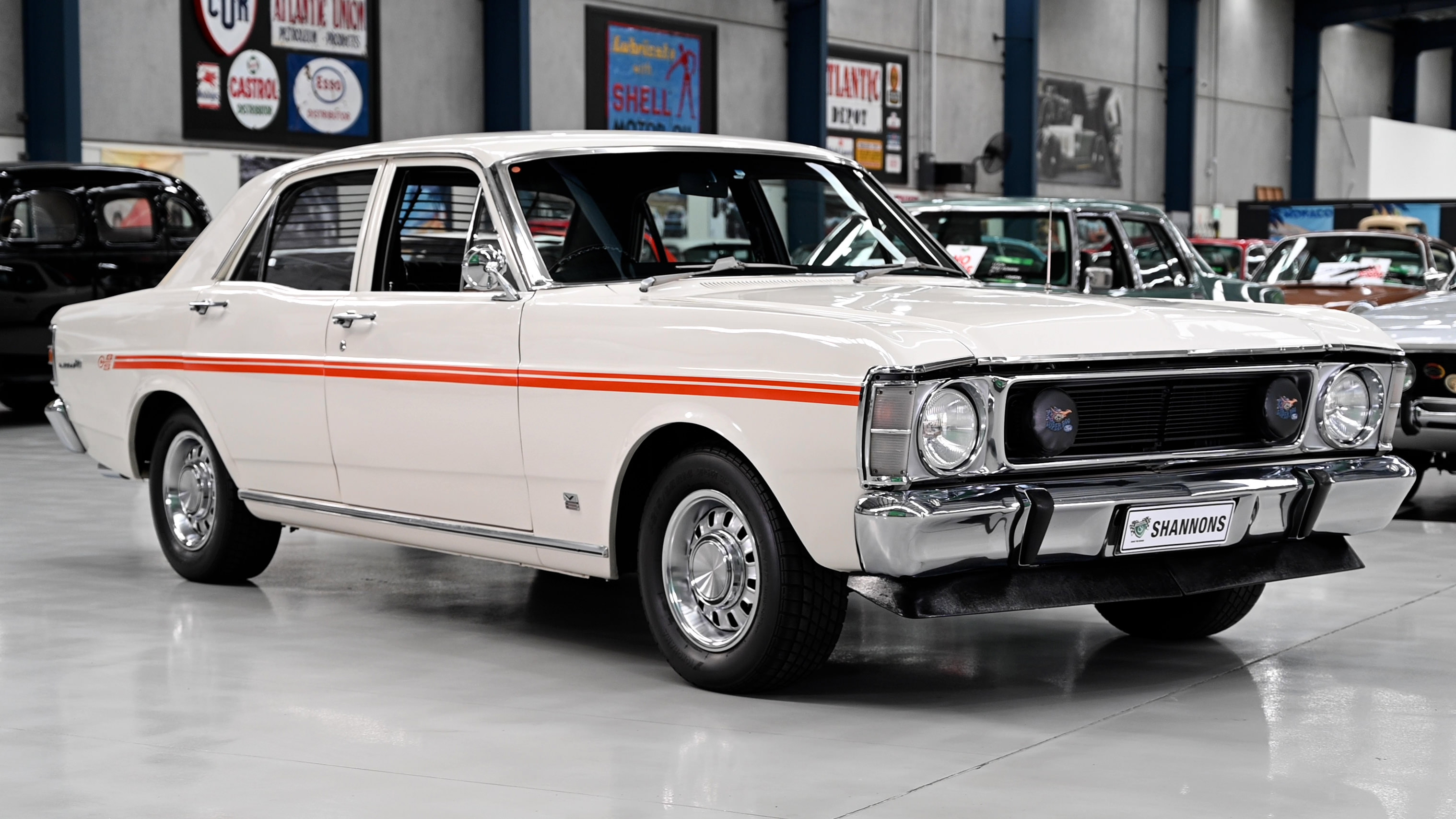 1969 Ford XW Falcon GS 302 'Manual' Sedan - 2021 Shannons Summer Timed Online Auction