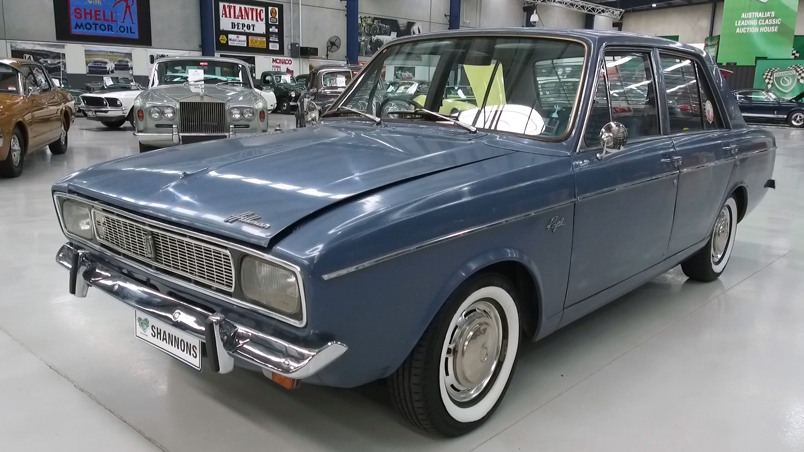 1969 Hillman Hunter Royal Saloon - 2021 Shannons Autumn Timed Online Auction