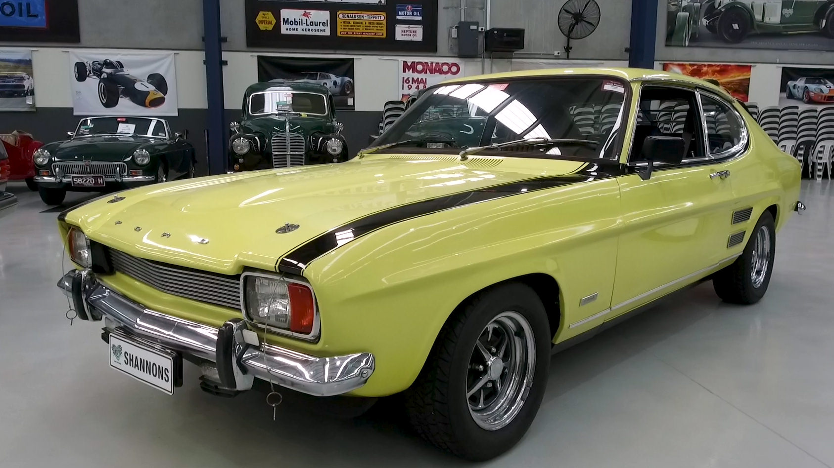 1972 Ford Capri 'Perana' V8 Coupe - 2021 Shannons Autumn Timed Online Auction