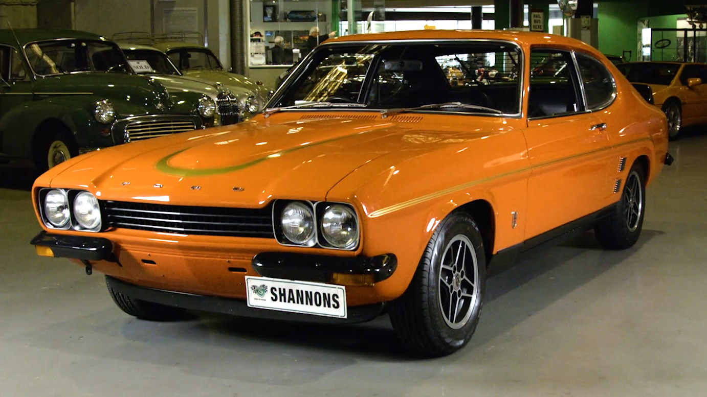 1974 Ford Capri RS3100 Coupe - 2020 Shannons Spring Timed Online Auction