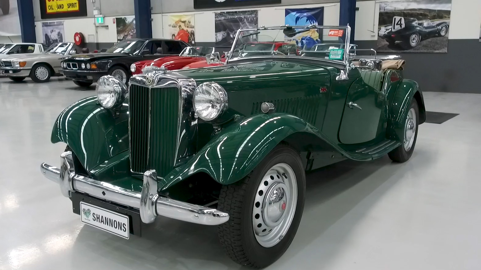 1953 MG TD 1250 Roadster - 2021 Shannons Autumn Timed Online Auction