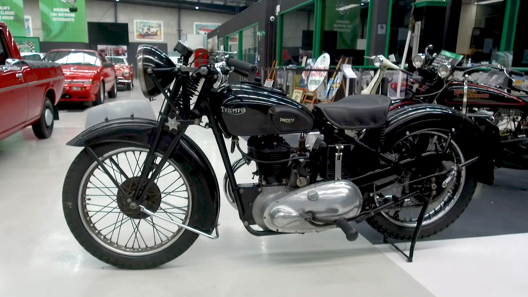 1939 Triumph 6S 600SV (Solo) Motorcycle - 2021 Shannons Summer Timed Online Auction