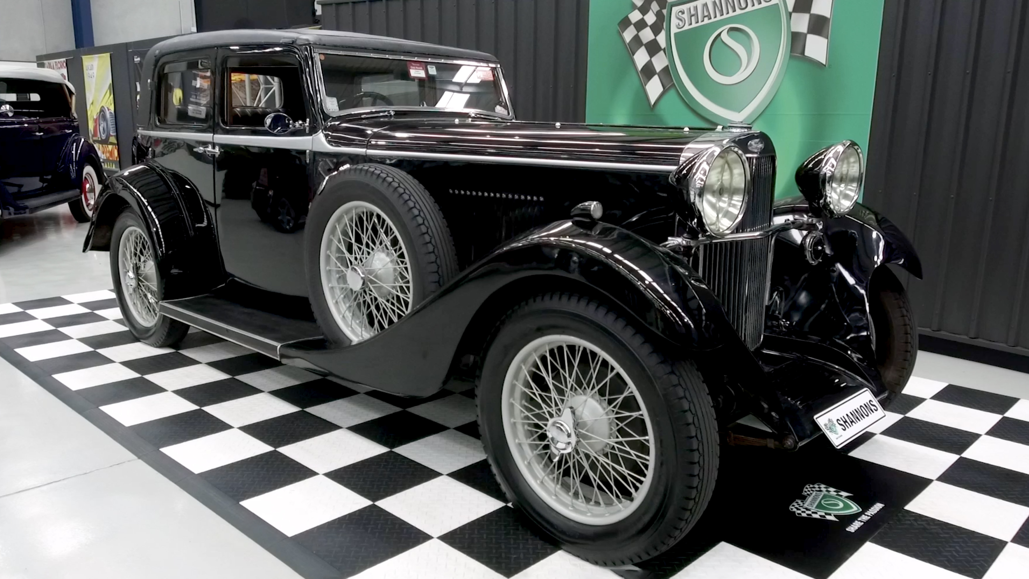 1933 Sunbeam Speed 20 4Dr 'Pillarless' Saloon - 2020 Shannons Spring Timed Online Auction