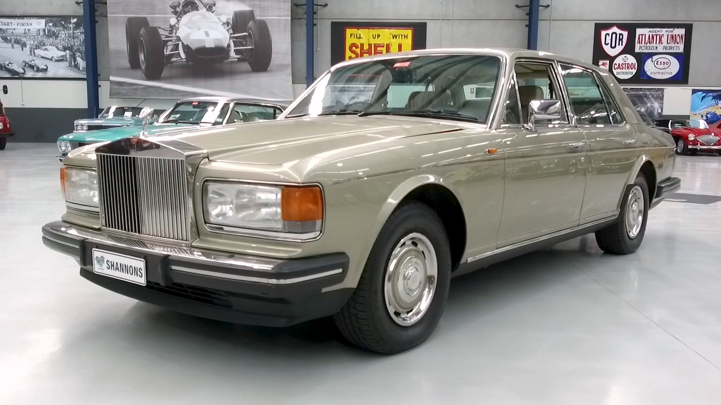 1987 Rolls-Royce Silver Spirit Saloon - 2021 Shannons Autumn Timed Online Auction