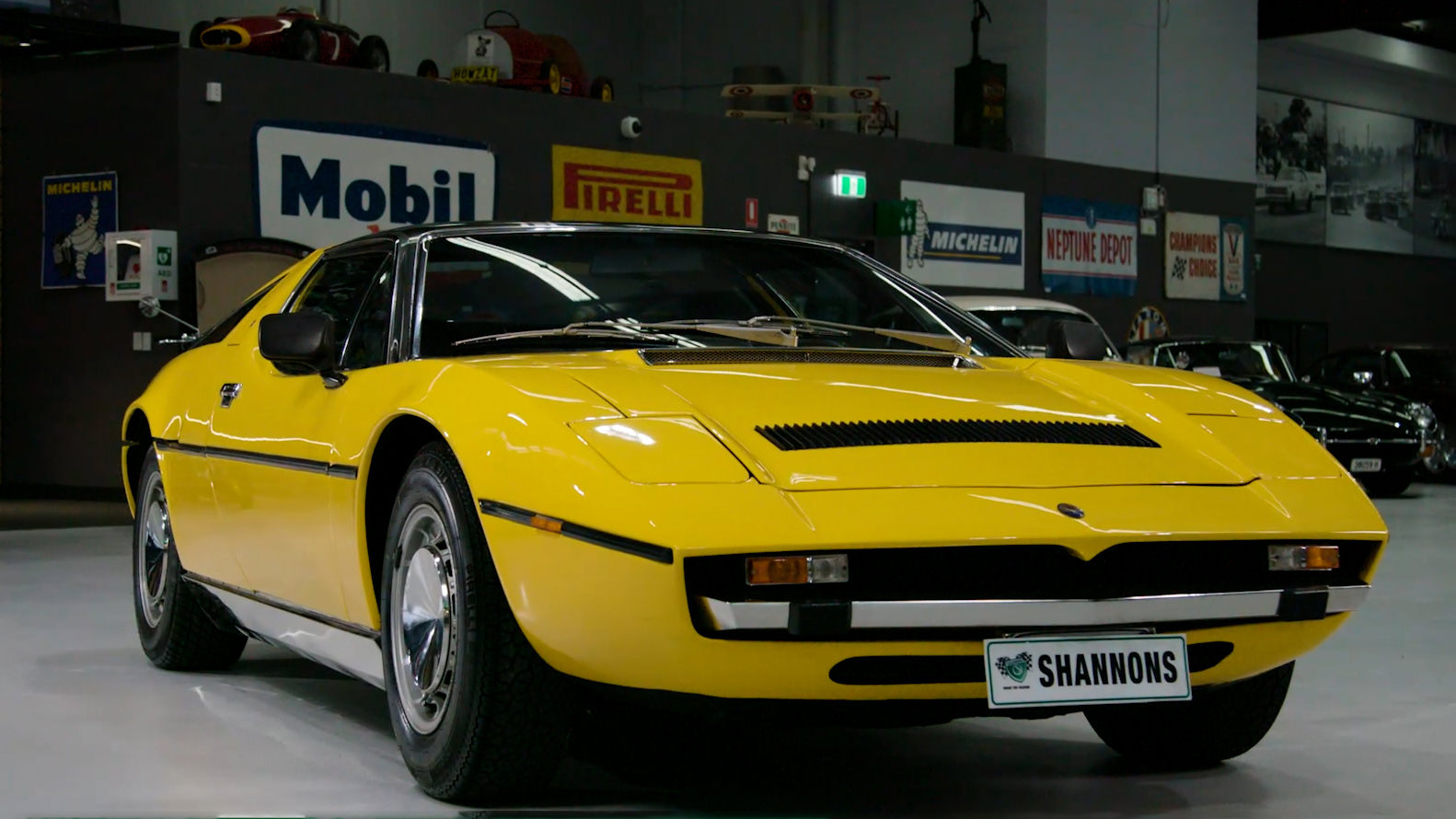 1974 Maserati Bora 4.9 Coupe (LHD) - 2021 Shannons Summer Timed Online Auction