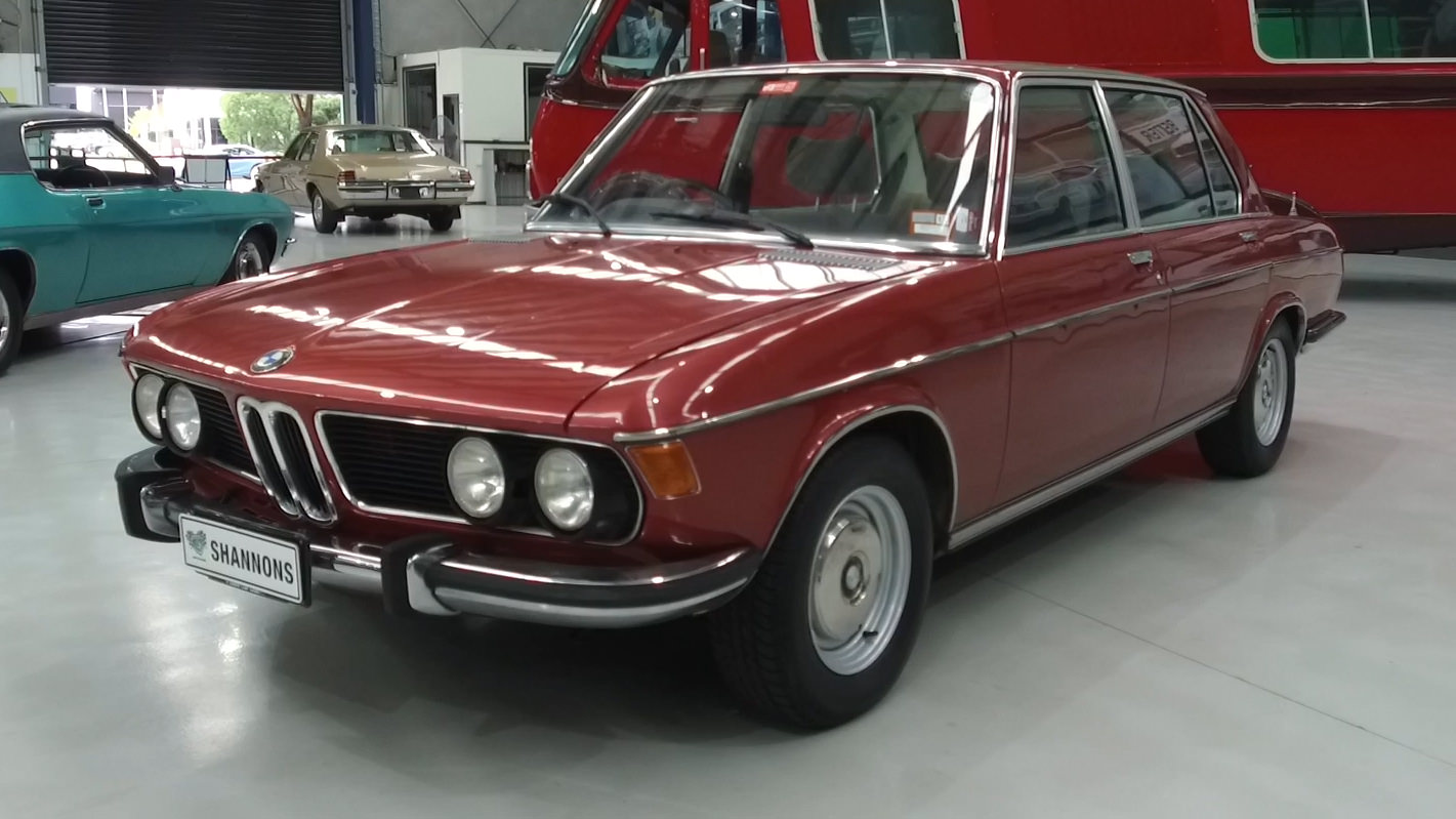 1974 BMW E3 3.0L Saloon - 2021 Shannons Autumn Timed Online Auction