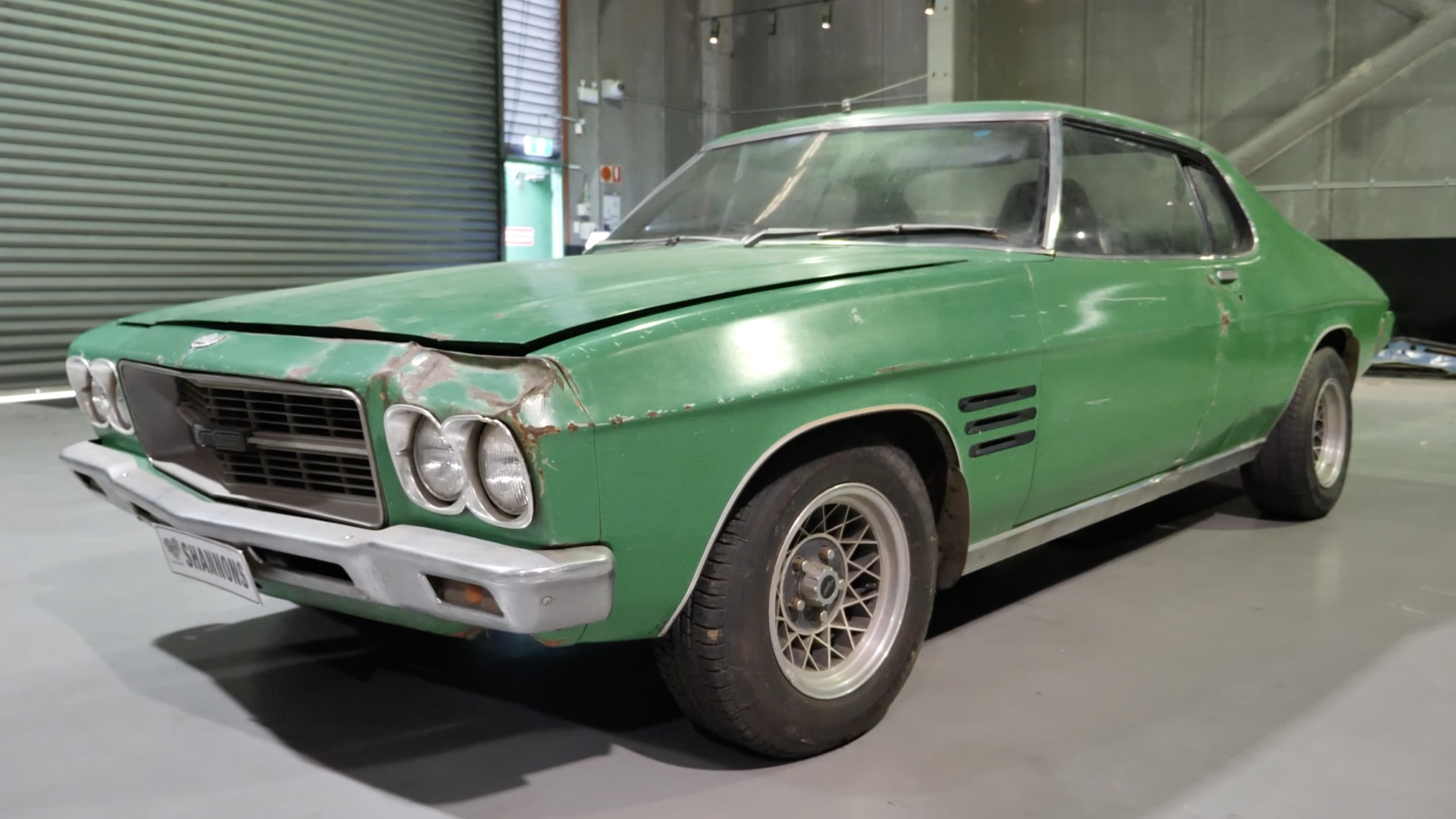 1971 Holden HQ LS Monaro 253 Coupe (Project) - 2020 Shannons Spring Timed Online Auction