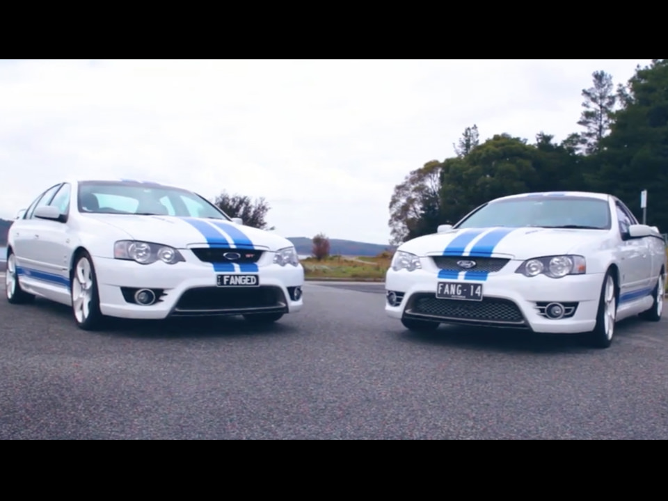 Ford BA & BF Falcon  - Shannons Club TV - Episode 120