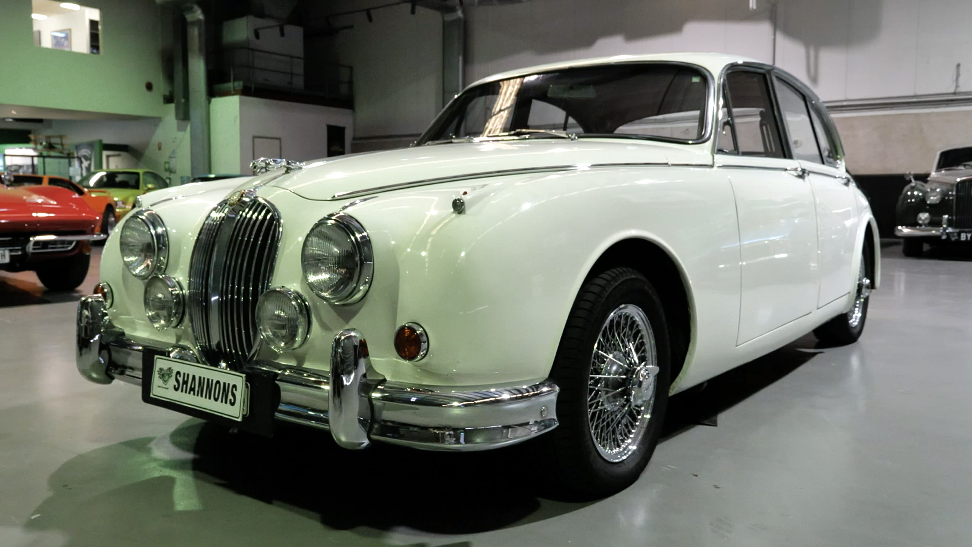 1964 Jaguar MkII 3.8 'Manual' Saloon - 2020 Shannons Spring Timed Online Auction