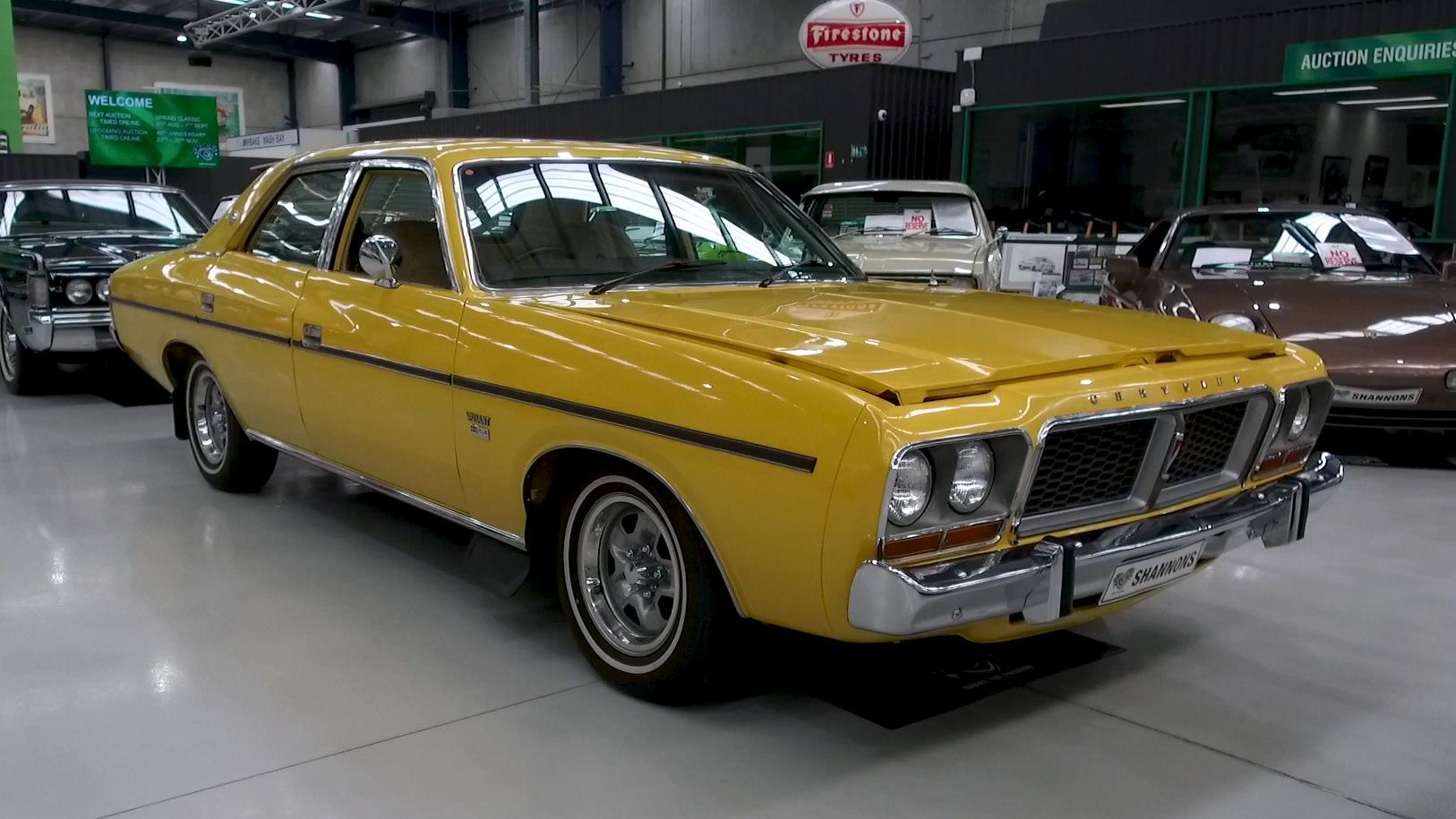 1980 Chrysler CM Valiant Sedan - 2021 Shannons Spring Timed Online Auction