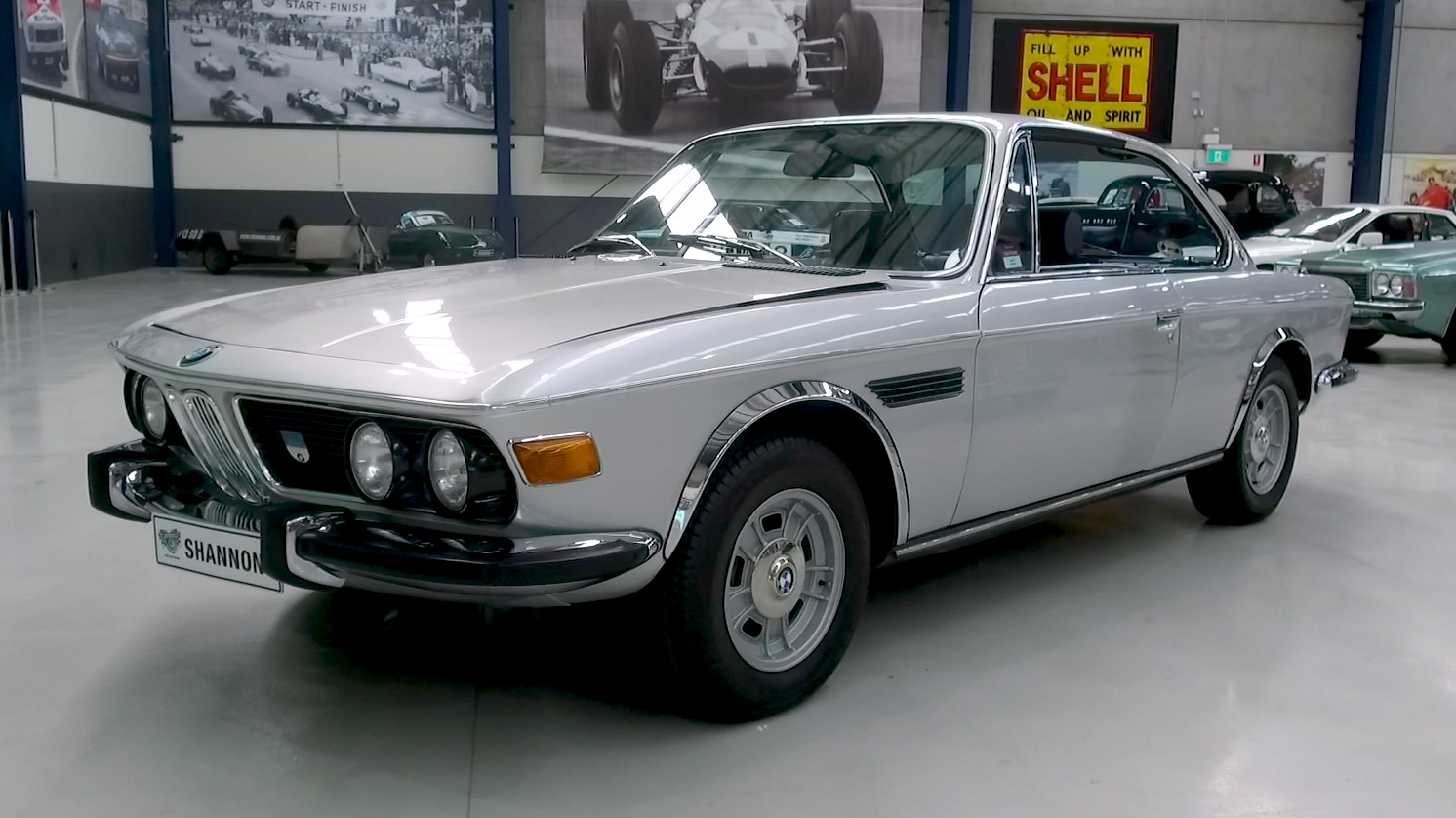 1971 BMW 3.0 CS 'Manual' Coupe - 2021 Shannons Summer Timed Online Auction