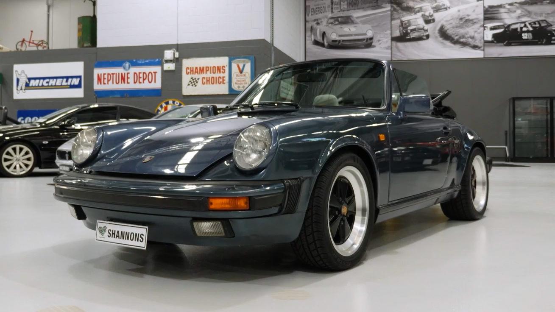 1984 Porsche 911 3.2 Carrera Cabriolet - 2021 Shannons Spring Timed Online Auction