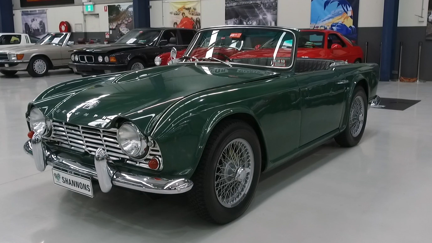 1964 Triumph TR4 Roadster - 2021 Shannons Autumn Timed Online Auction